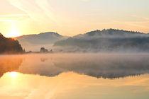 Der Blick zum Sonnenaufgang by Bernhard Kaiser