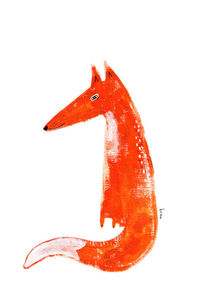 Just a fox by Kristina  Sabaite