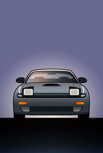 Modern Japanese Icons Series Toyota Celica  GT-Four All-Trac Turbo ST185 by monkeycrisisonmars