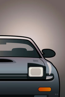 Modern Japanese Icons Series Toyota Celica  GT-Four All-Trac Turbo ST185 (Split) by monkeycrisisonmars