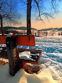 Blick in die Winterlandschaft by Patrick Jobst