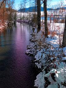 Stiller Fluss zur Winterzeit by Patrick Jobst