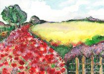 Mohnblumen Meer von lona-azur