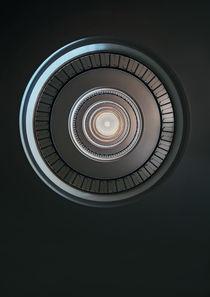 Monochromatic round staircase by Jarek Blaminsky