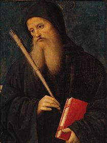 St. Benedict  by Pietro Perugino