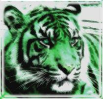 Green Tiger von kittymisty