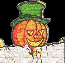 Top Hat Pumpkin by kittymisty