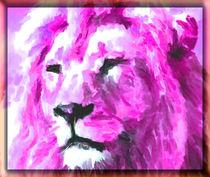 Magenta Lion von kittymisty