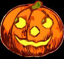 Smiling Pumpkin by kittymisty