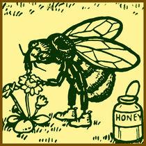 Bee Standing von kittymisty