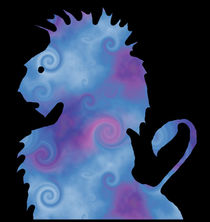 Lavender Lion by kittymisty