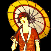 Vintage Umbrella von kittymisty