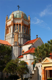 Flagler Memorial Presbyterian Church in St. Augustin - Florida by Marita Zacharias