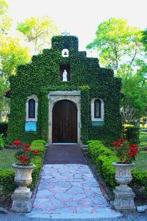 Schöne Kapelle mit Madonna in St. Augustin Florida by mellieha