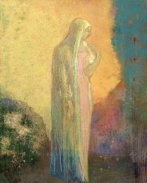 Standing Veiled Woman  von Odilon Redon