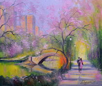 Spring in the city park by Olha Darchuk