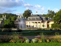 Schloss Pillnitz und Park bei Dresden von mellieha