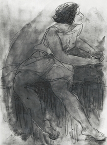 Isadora Duncan  by Auguste Rodin