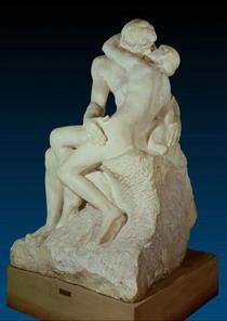 The Kiss von Auguste Rodin