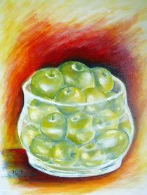 Schale mit Äpfel von Irina Usova