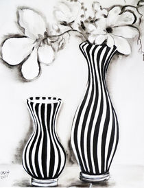 Gestreifte vasen by Irina Usova