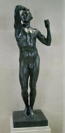 The Age of Bronze  von Auguste Rodin