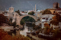 An Old bridge in Mostar von Jarek Blaminsky