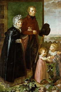The Artist`s Parents von Philipp Otto Runge