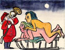 Weihnachtskarte von Wolf-Dieter Pfennig