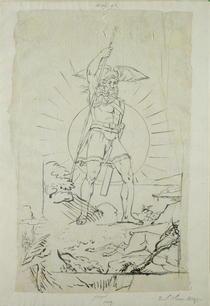 Fingal, 1804-5  by Philipp Otto Runge