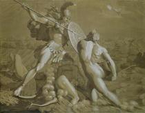 Fight of Achilles with the River Scamander  von Philipp Otto Runge