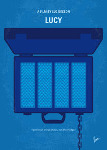 No574 My Lucy minimal movie poster von chungkong