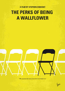 No575 My Perks of Being a Wallflower minimal movie poster by chungkong