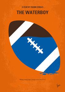 No580 My The Waterboy minimal movie poster von chungkong