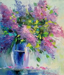 Lilac Bouquet by Olha Darchuk