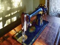 Vintage Sewing Machine and Shadow by Susan Savad