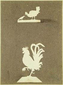 Farmyard birds  by Philipp Otto Runge