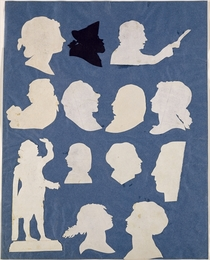 Study of Profiles and an Orator  von Philipp Otto Runge