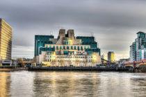 SIS Secret Service Building London von David Pyatt