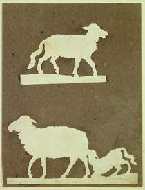 Sheep and Sheep with Lamb  by Philipp Otto Runge