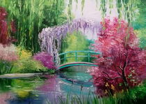 Pond in the garden of Monet von Olha Darchuk