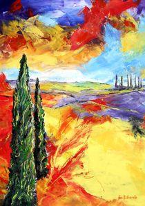 Toscanische Impression by Eberhard Schmidt-Dranske
