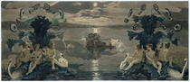 Arion`s Sea Journey by Philipp Otto Runge