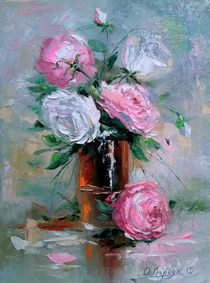 Morning roses by Olha Darchuk