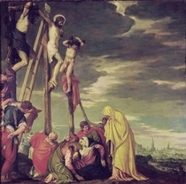 Calvary  by Paolo Veronese