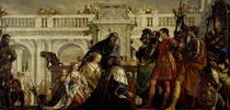 Family of Darius before Alexander the Great  von Paolo Veronese