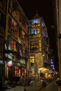 Straßburg bei Nacht by Torsten Wattenberg