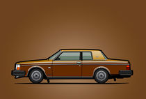 Volvo 262C Bertone Brick Coupe 200 Series Gold-Bronze  von monkeycrisisonmars