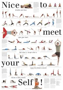 Yoga Poster by yoga-poster-berlin