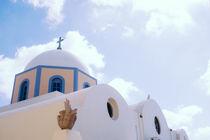 Kirche in Santorin by rampizampi
